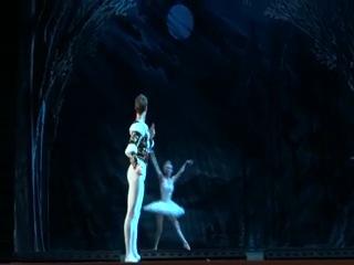 балет Лебединое Озеро 30 июля Одетта - Одилия - Екатерина Зварко (Гераськина) принц Зикфрид - Михаил Ткачук
