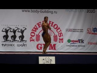 Чемпионат УрФО по бодибилдингу, фитнесу и бодифитнесу 2013г. Показательные выступления. Максим Куриленко.
