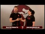 Twisted Monk - Как привязать руки к простой обвязке груди