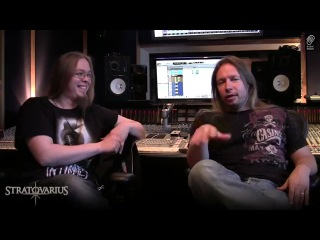 STRATOVARIUS Studio Interview 2012 with Timo & Matias on the new album  & tour