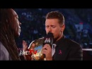 WWE Monday Night RAW 17.09.2012 Booker T appears on Miz TV