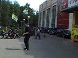 Diman 55 на открытии пробега Братский Путь