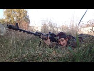 Снайперское интервью во время боя