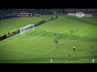 Кубок Либертадорес 2013 Групповой раунд Группа 6 Серро Портеньо Парагвай Реал Гарсиласо Перу 2 тайм