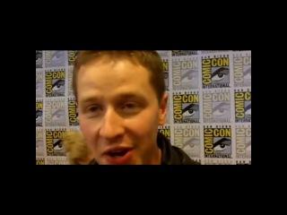 Видео интервью Джоша Далласа с Комик Кон 2012