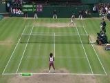 Wimbledon 2012. Женщины. Финал. Агнешка Радванска (Польша) — Серена Уильямс (США) 1