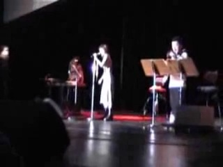 Yuki Kajiura & Kaori Nishina at AnimagiC 2004