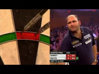 Ted Hankey vs Scott Waites (Grand Slam of Darts 2013 / Quarter Final)