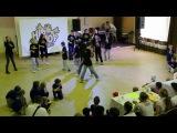Хип-хоп Лига - соревнования между школами по танцам, шоу номера, 1 место, сборная школ, команда