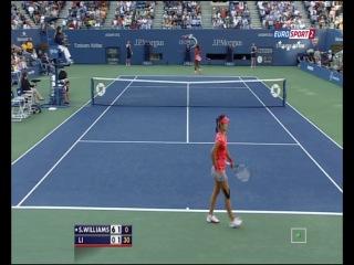 US Open 2013 / 1/2 финала / Серена Уильямс - На Ли