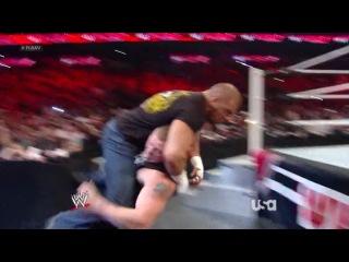 Brock Lesnar VS. Triple H (WWE RAW 25.02.2013) - WrestlingPortal.ru