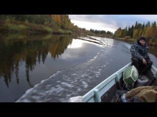 на моторке по реке сояне