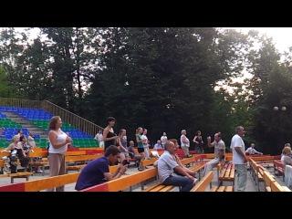бачата.уроки танцев в измайловском парке
