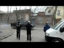 Танк в Таганроге. Съёмки фильма СТАРОЕ РУЖЬЁ