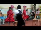 танец гостей Мухи-Цокатухи на 8 марта в детском саду №304 Одесса средняя группа