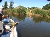 Рыбак на реке...