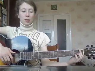 Девушка жжёт на гитаре! быстро научилась играть на баррэ