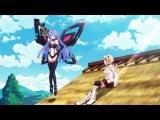 Прикол из аниме Choujigen Game Neptune The Animation-Госпожа Богиня!!!