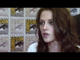 Comic Con 2011- Taylor Lautner, Kristen Stewart, Bill Condon and Julia Jones talk Breaking Dawn
