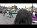 Парад посвященный 20-летию Диснейленда в Париже