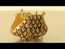Шкатулка для ювелирных украшений Ридикюль арт BG747 Faberge Style Handbag Jewelry box от Keren Kopal