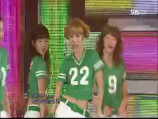 [PERF] SNSD - New Year's Resolution, Oh! & Let You Go (Inkigayo/2010.02.14)