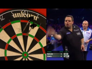 Phil Taylor vs Adrian Lewis (PDC Coral Masters 2013 / Final)