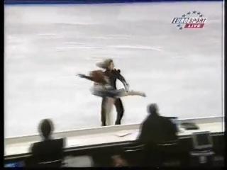 Marina anissina & gwendal peizerat. carmina burana. european champ.2000
