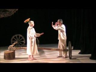 Тевье и Голда. Сцена из спектакля