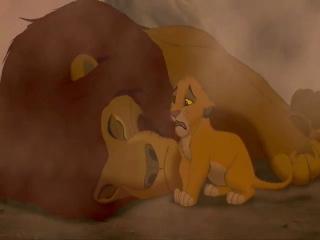 Король Лев Муфаса и Симба