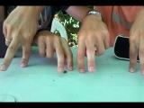 Хасидские пальчики рулят... всем смотреть... не пожалеете