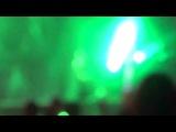Выступление группы Rammstein на рок фестивале
