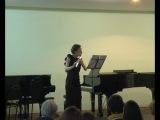 Юрий Акбалькан (Санкт-Петербург). «Саби-Ржавчина» для флейты соло (2010)