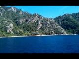 Прогулка на яхте (продолжение) Мармарис 2013
