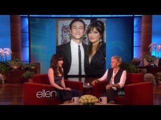 The Ellen DeGeneres Show - 9/25/2012 [Zooey Deschanel]