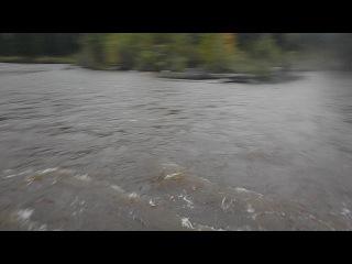 Паводок в Омсукчане 100 км от Охотского моря