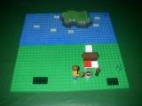 MINECRAFT  LEGO  MULT  PART 1.Первый раз.Одиночная игра.