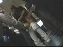 Азиантку заставили сосать и обкончали в поезде метро