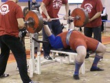 Тимур Гадиев - жим 280 кг на чемпионате ПФО 2010