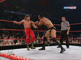 [My1] WWE RAW 22.07.2002 - Eddie Guerrero vs. The Rock [Рус.]