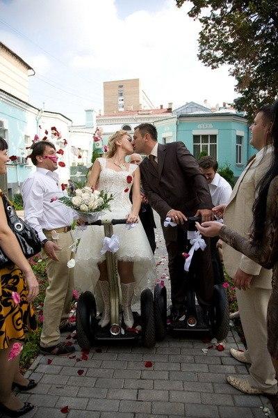 аренда segway на свадьбу