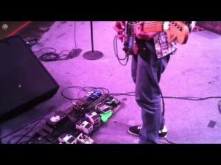 Scott Lucas on his unique guitar/bass setup