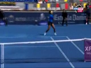 Теннис.Мадрид-2012.Елена Веснина-Серена Уильямс.