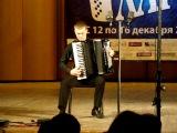 В. Малых. Токката. Исп. Дмитрий Киселёв (аккордеон).
