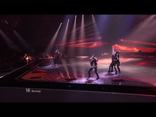 Tooji - Stay, Norway (Eurovision Final 2012)