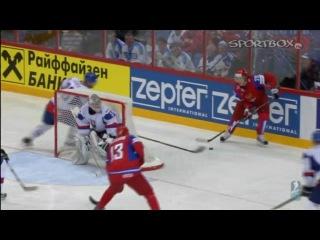 Чемпионат мира по хоккею 2012. Россия - Словакия 6:2. Финал. Забитые шайбы и лучшие моменты!