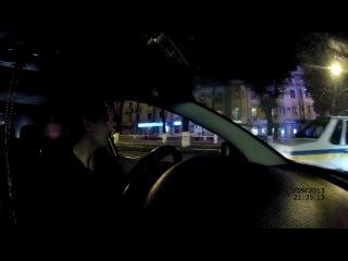 ДАІ Вінниця.гаєц ві 0287 Троніцький Сіргей обзиває водіїв козлами!!