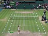 Wimbledon 2012 / Финал / Агнешка Радванска (Польша) - Серена Уильямс (США) / НТВ+