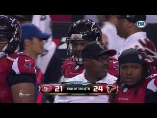 NFL 2012-2013 / NFC Conference Championships / 20.01.2013 / San Francisco 49ers @ Atlanta Falcons RU Часть 2