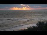 шторм на восходе солнца, Азовское море 2012